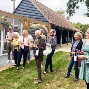 Councillor John Giffiths MBE and guests attend grand opening Longcroft Luxury Cat Hotel Bury St Edmunds